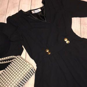 reynah Dresses - Reynah Vintage Inspired Jumper Dress